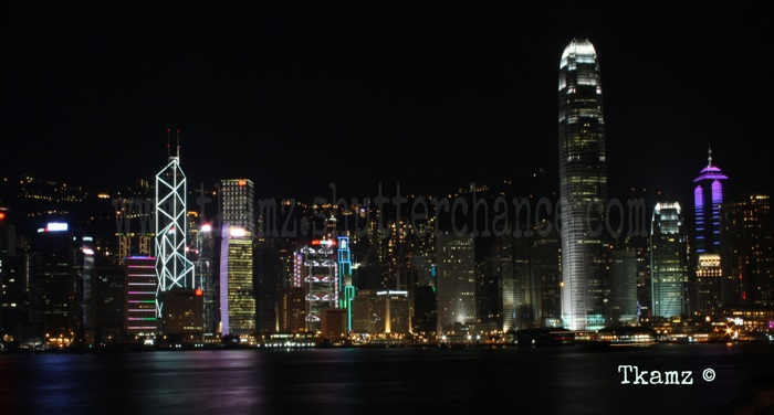 photoblog image Victoria Harbour Skyline at Night